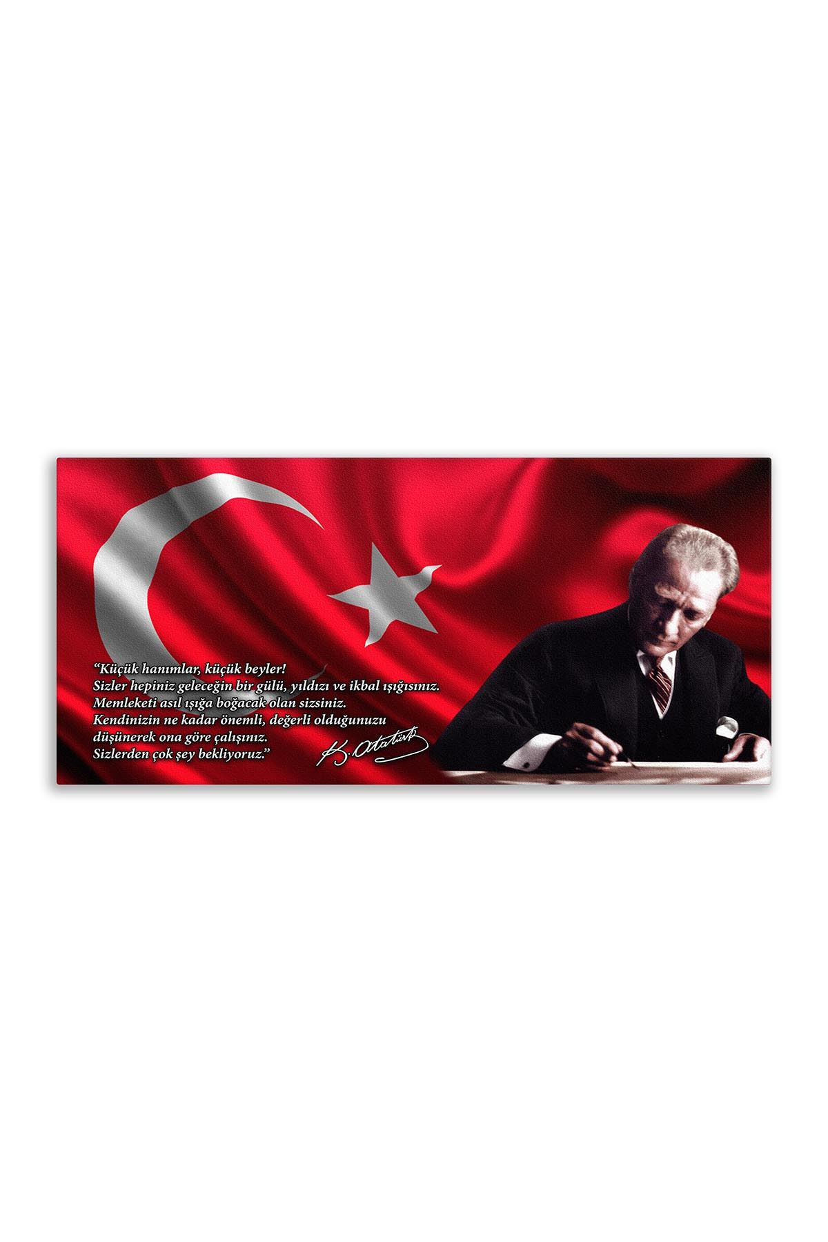 Atatürk Canvas Board | Printed Canvas Board | Customized Board |Digital Printing