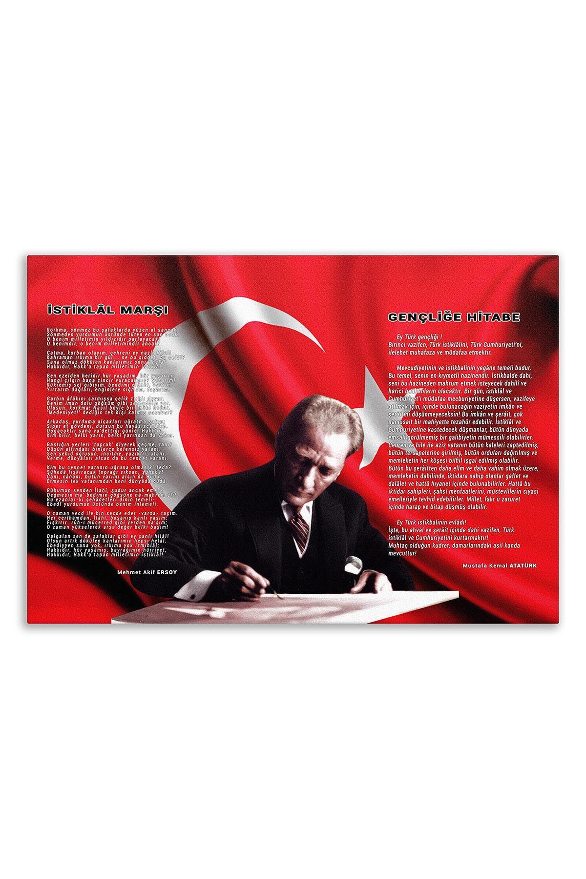 Atatürk Canvas Board | Printed Canvas Board