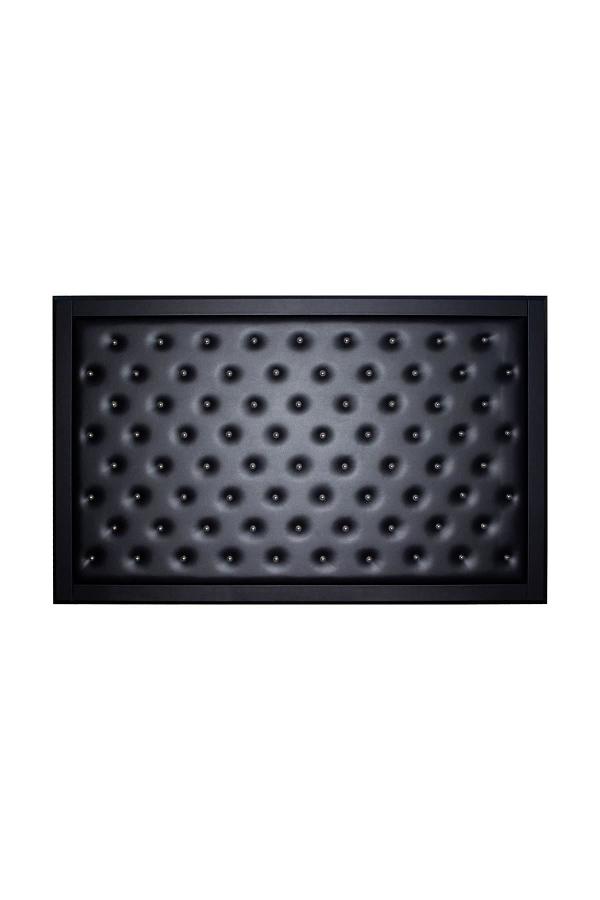 Buttoned Manager Board - Black