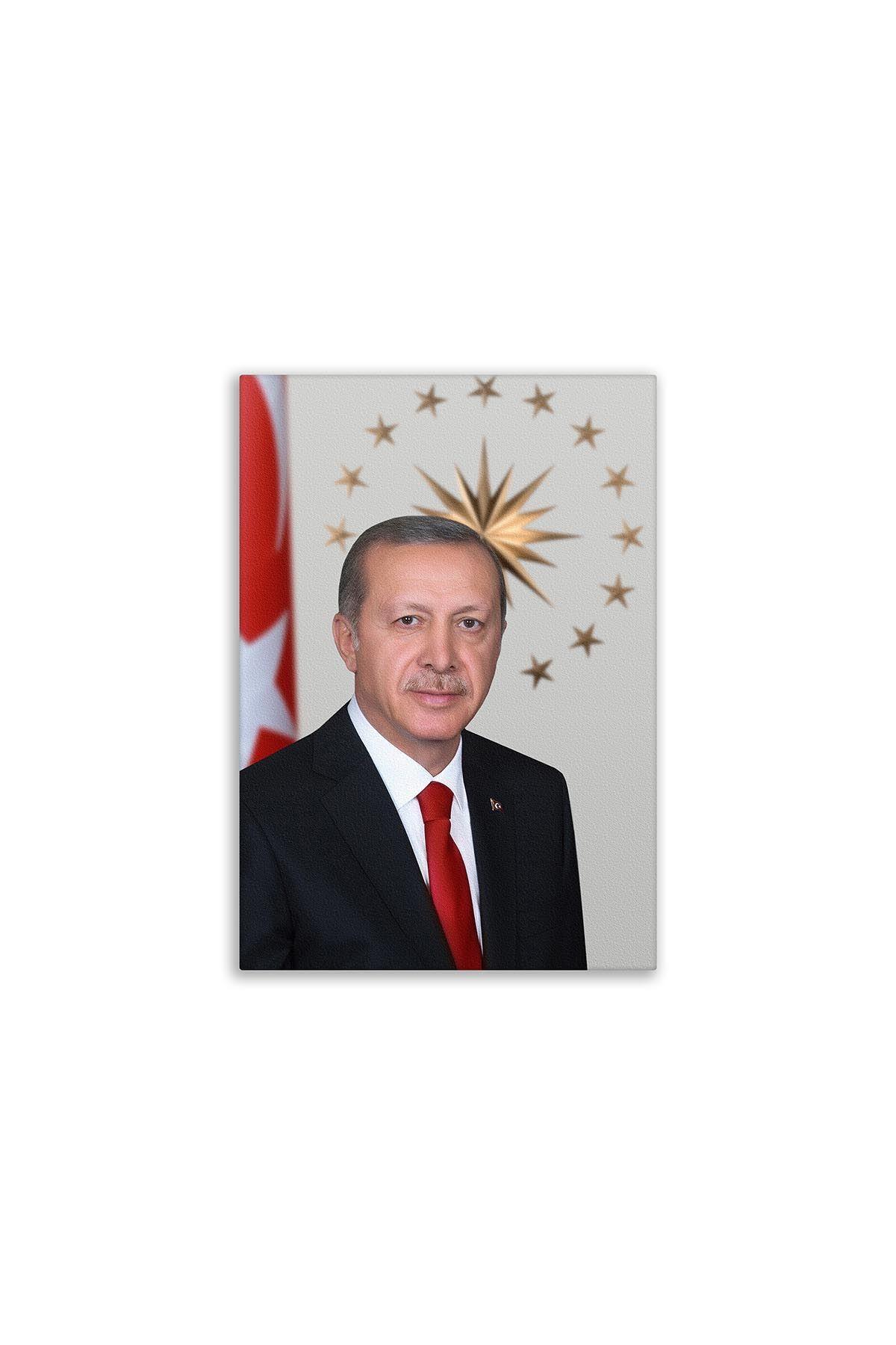 Recepe Tayyip Erdoğan Canvas Board | Printed Canvas Board | Customized Canvas Board | Digital Printing