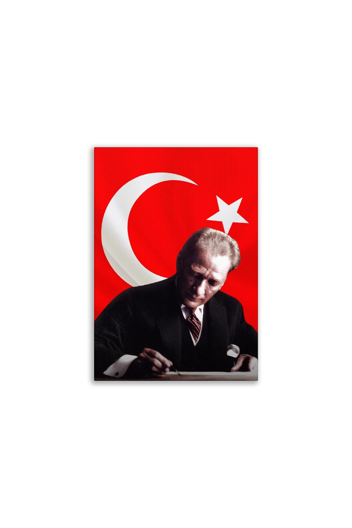 Ataturk Canvas Board   Printed Canvas Board   Customized Canvas Board