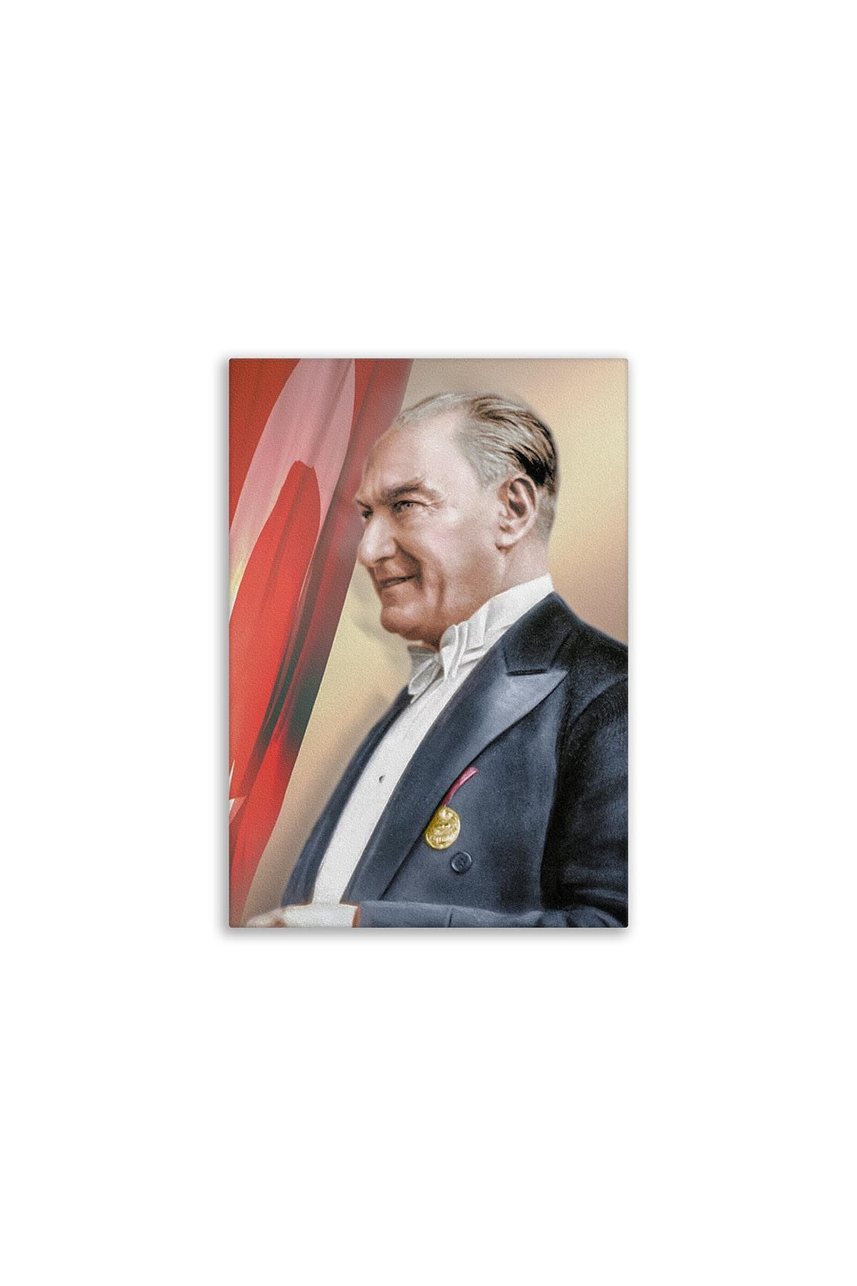 Ataturk First President Canvas Board | Printed Canvas Board | Customized Canvas Board