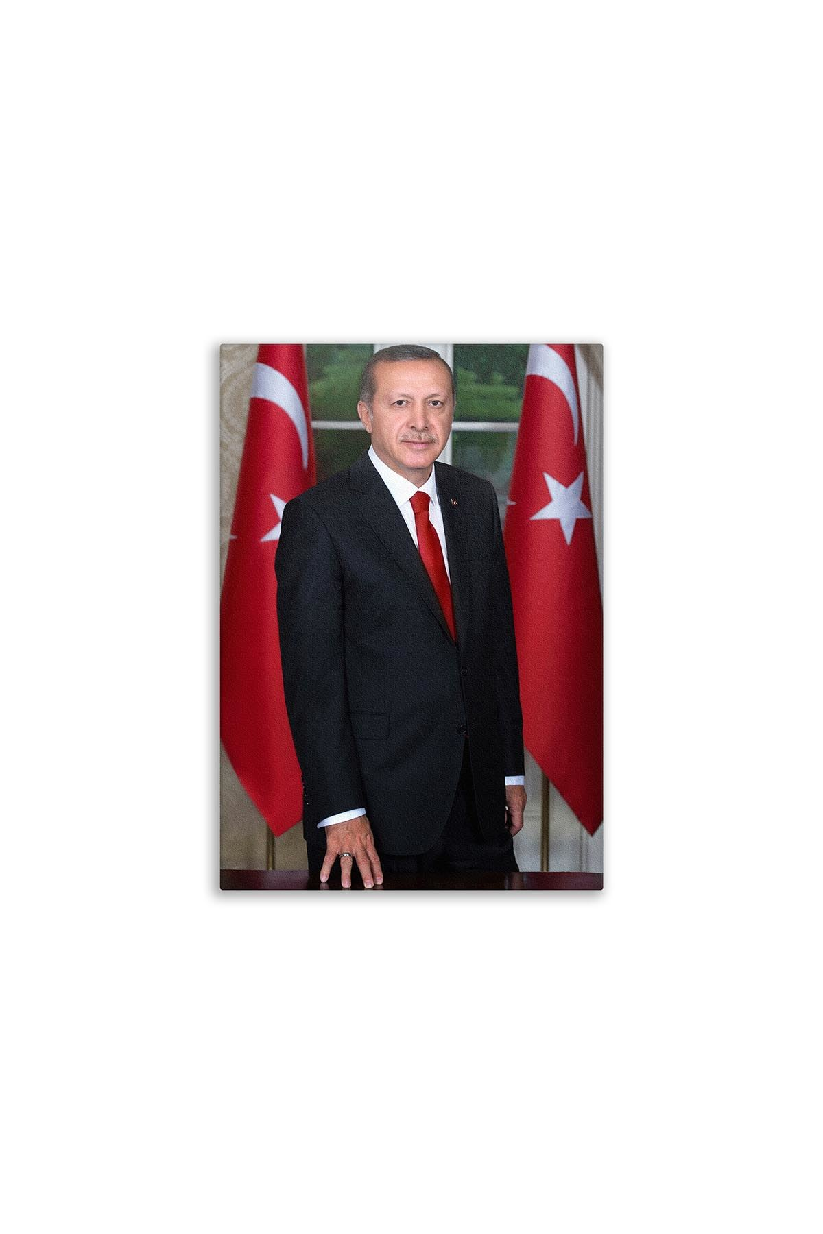Turkish President Canvas Board | Printed Boards | Customized Boards