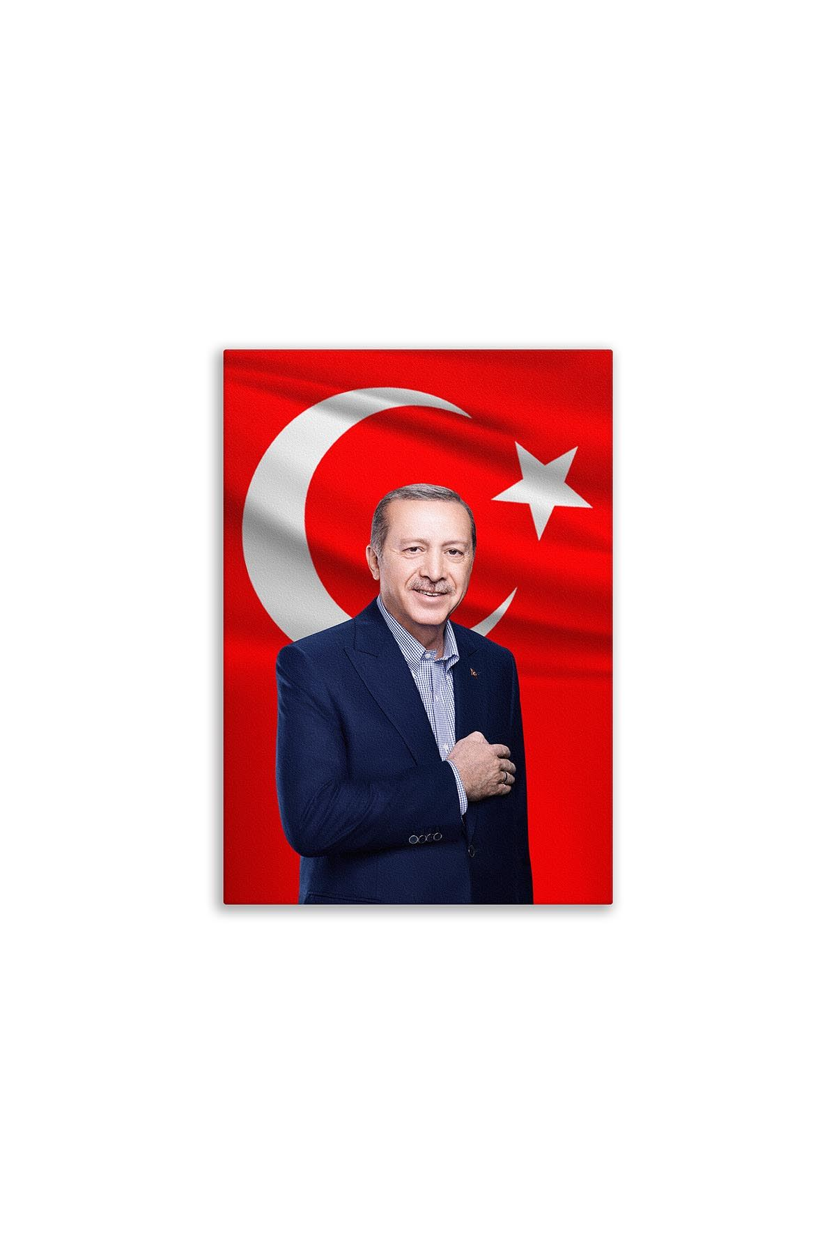 Turkish President Canvas Board | Printed Canvas Board | Customized Canvas Board