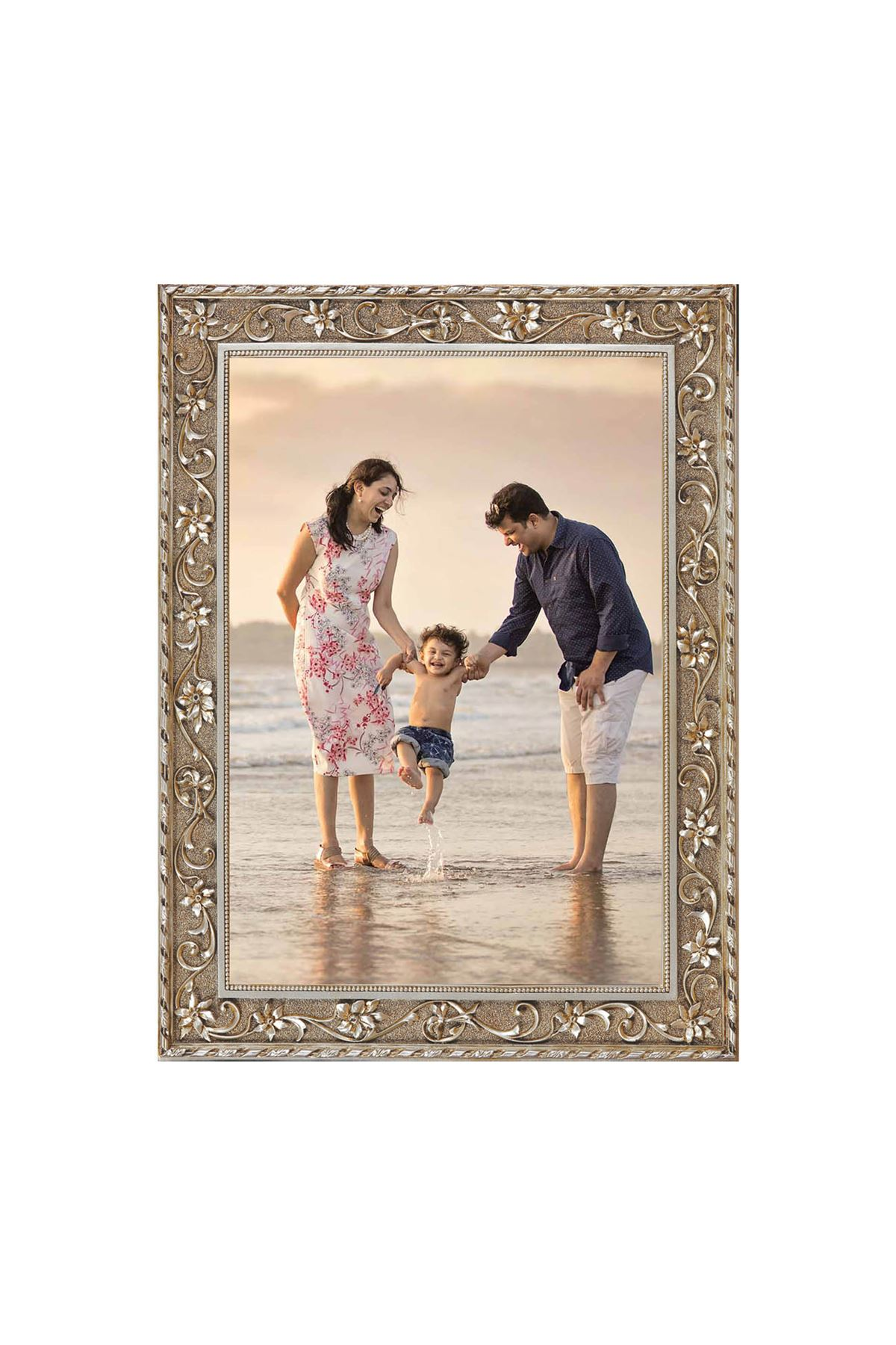Personalized Golden Frame or Silver Frame Pictures